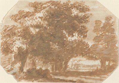 Claude Lorrain, 'Grove of Trees', ca. 1640