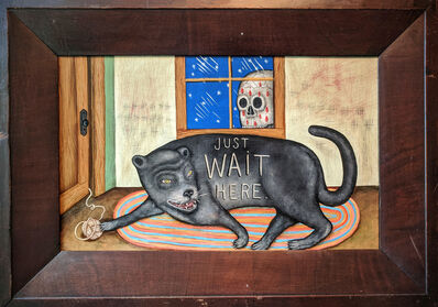 Fred Stonehouse, 'Wait Here', 2020