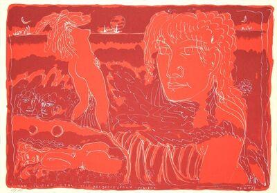 Tono Zancanaro, 'Girls', 1970's