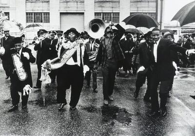 William Claxton, 'The Eureka Brass Band, New Orleans', 1962