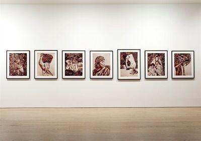 Vik Muniz, 'Pictures of Garbage set of 7 prints', 2008-2011
