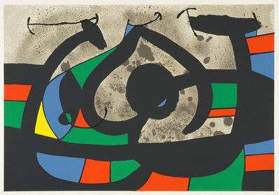 Joan Miró, 'UNTITLED from Le Lezard aux Plumes d'Or', 1971