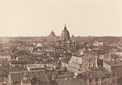 James Anderson, 'View of Rome', ca. 1855