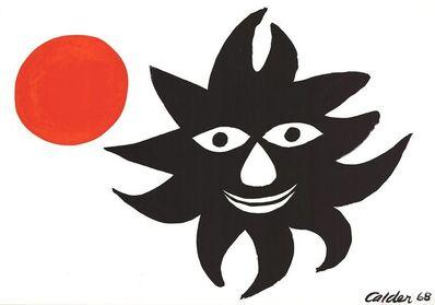 Alexander Calder, 'Sun and Moon', 1968