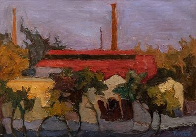 Toti Scialoja, 'The factory', 1946