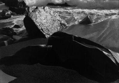 Paul Caponigro, 'Surf and sea shore, California', 1956