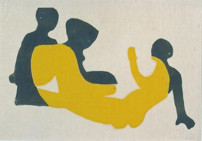 Ernst Ludwig Kirchner, 'Drei Akte im Walde (Three Nudes in the Forest)', 1933