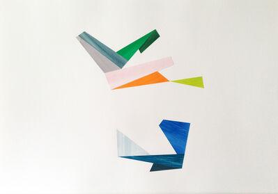 Agnes Barley, 'Untitled Collage (Birds & Spores) 8', 2014