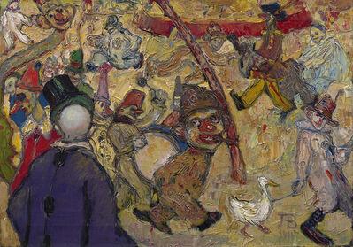 Albert Bloch, 'Clowns I', 1911
