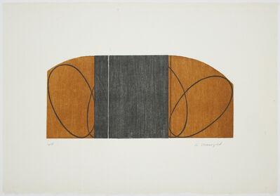 Robert Mangold, 'Brown/Black Zone', 1997