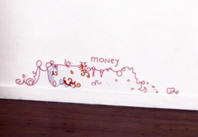 Lily van der Stokker, 'Money', 1999