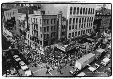 Amalie R. Rothschild, Jr., 'Crowd for Crosby, Sills and Nash Tickets, May 1970', 1970