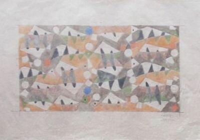 Carlos Merida, 'Project for Mural: AZULEJO', 1953