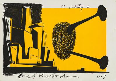 Aki Kuroda, 'M City 2', 2017