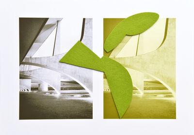 Sergio Vega, 'Planalto palace arches', 2016
