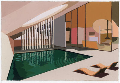 Andy Burgess, 'Desert Villa Retreat', 2020