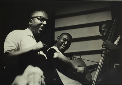 William Claxton, 'Sonny Terry & Bownie McGee', 1950