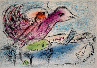Marc Chagall, 'The Bay | La baie', 1962