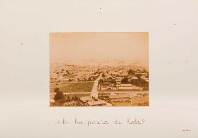 Vincenzo Agnetti, 'Chi ha paura di Kobe', 1980