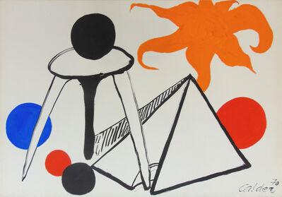 Alexander Calder, ' On the Moon', 1970