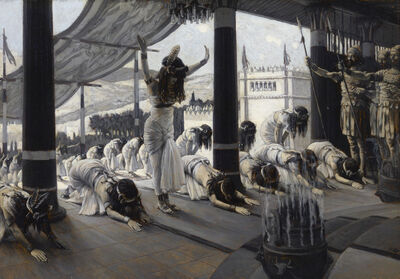 James Jacques Joseph Tissot, 'The Visit of the Queen of Sheba', 1816-1902