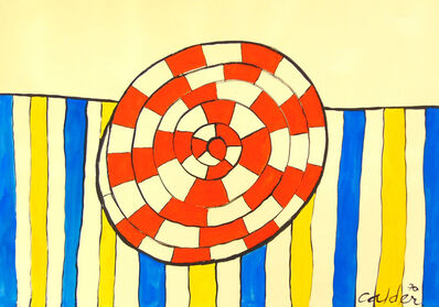 Alexander Calder, 'Wheel and Stripes', 1970