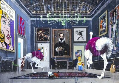 Angelo Accardi, 'The Knight's room', 2020