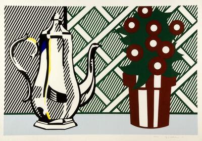 Roy Lichtenstein, 'Still Life with Pitcher and Flowers', 1974