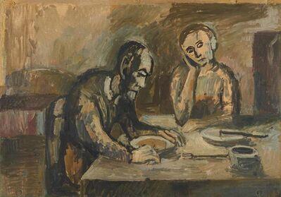 A.R. Penck, 'Großvater und Mutter am Frühstückstisch', Ca. 1961
