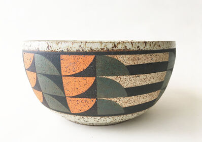 Kat Hutter, 'Painted Bowl (1)', 2019
