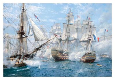 John Steven Dews, 'Battle Of Trafalgar', 21st Century