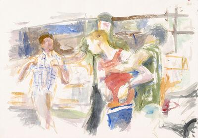 John Kelsey, 'Dans la rue, 2', 2016