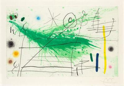 Joan Miró, 'PARTIE DE CAMPAGNE III (DUPIN 432)', 1967