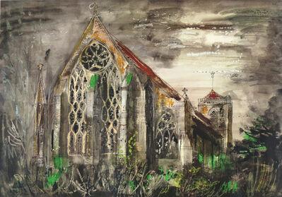 John Piper, 'Dorcester Abbey'