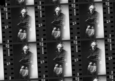 Alison Jackson, 'Queen on the Loo (Contact Sheet)', ca. 2010