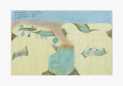 Joseph Yoakum, 'Mt. Bendeleow in White Mtn. Range Near Taylor Peninsular Alaska', 1969