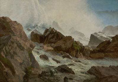 Albert Bierstadt, 'View of Niagara Falls from Prospect Point', ca. 1869