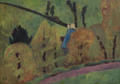Paul Sérusier, 'Le chemin rose à Châteauneuf du Faou', 1911