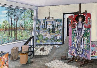 Damian Elwes, 'Gustav Klimt's Studio (Vienna, 1913)', 2019