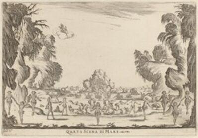 Stefano Della Bella, 'Quarta Scena di Mare', 1637
