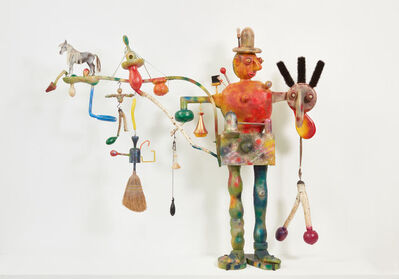 Roy De Forest, 'El Hombre Grande', 1989