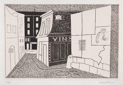 Stuart Davis, 'Rue des Rats (C. & M. 5)', 1928-29