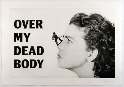 Mona Hatoum, 'Over My Dead Body', 2005