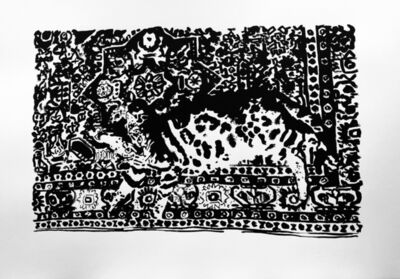 Anna Jermolaewa, 'Cat becoming a carpet', 2020