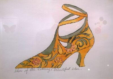 Andy Warhol, 'Beautiful Shoe', ca. 1955