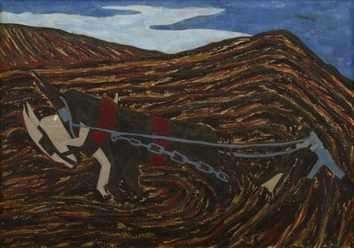 Jacob Lawrence, 'The Plowman (Spring Plowing)', 1942