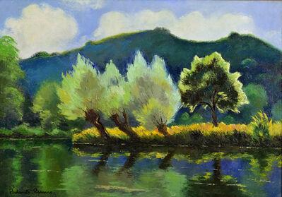 Paulémile Pissarro, 'Bord de rivière', 20th century