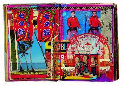 Shinro Ohtake, 'Scrapbook #11 (detail)', 1980