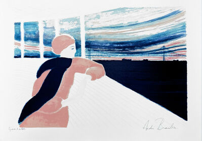Andre Brasilier, 'Le Tage', 1983