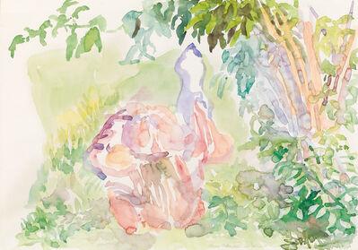 Maria Lassnig, 'Körper unterm Holunder', 1981